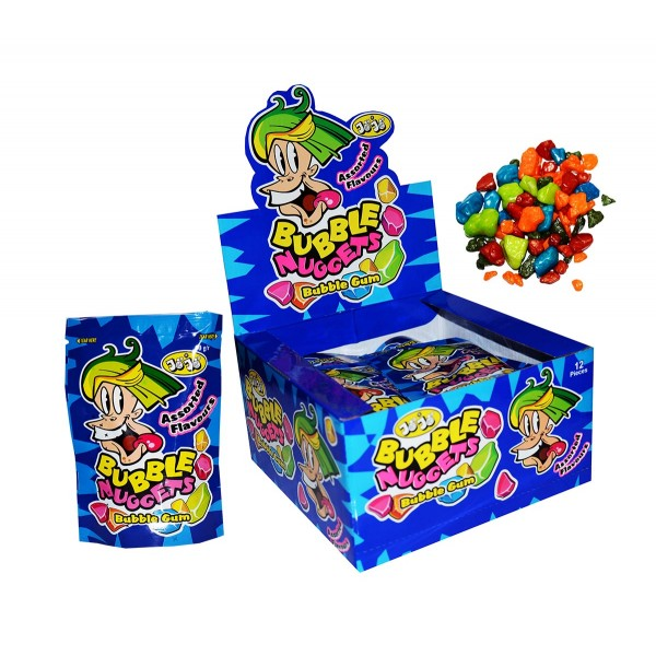 Chewing gum BUBBLE NUGGETS, 50 g.