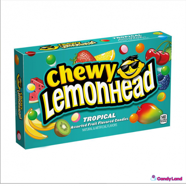 Chewing candy LEMONHEAD (TROPICAL), 23g