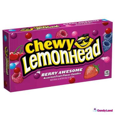 Chewing candy LEMONHEAD (BERRY), 23g