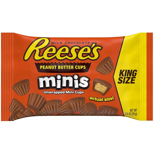 Chocolate candys REESE'S,  70 gr.