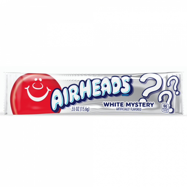 Chewing gum AIRHEADS (WHITE MYSTERY), 15.6g