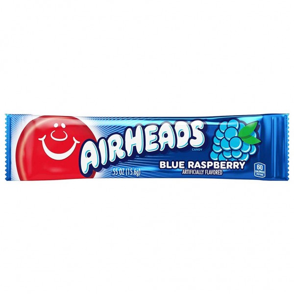 Chewing candy AIRHEADS (BLUE RASPBERRY), 15.6g