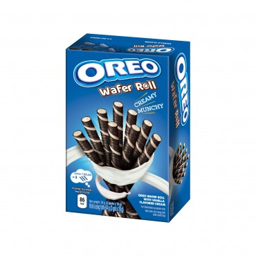 Biscuits OREO WAFER ROLL (VANILLA), 54 g.