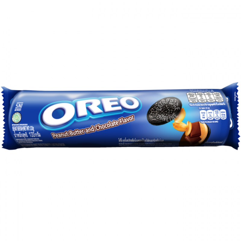 Biscuits OREO (NUT BUTTER), 137 g.