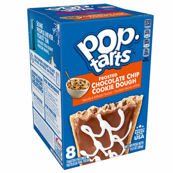 Biscuits POPTARTS (CHOCOLATE CHIP COOKIE DOUGH), 400 g.