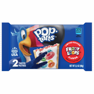 Biscuits POPTARTS (FROOT LOOPS), 96g