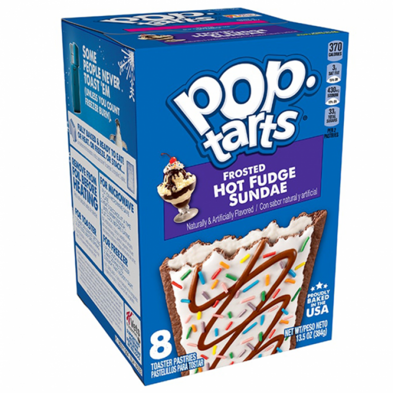 Biscuits POPTARTS (HOT FUDGE SUNDAE), 384 g.